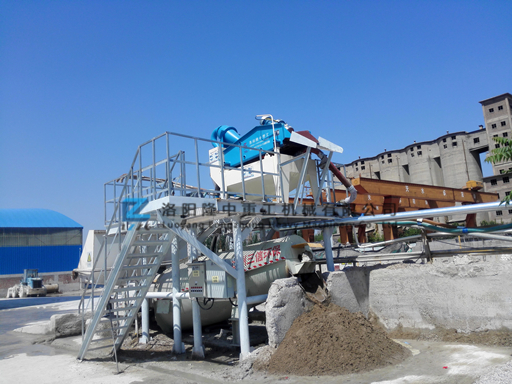 细沙回收机安装
